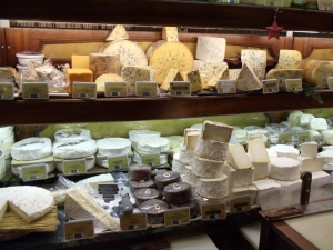 cheese shop in Paris