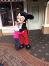 Little E and Mickey