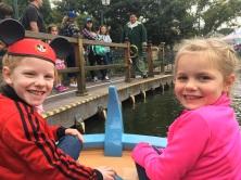 Storybook boat ride